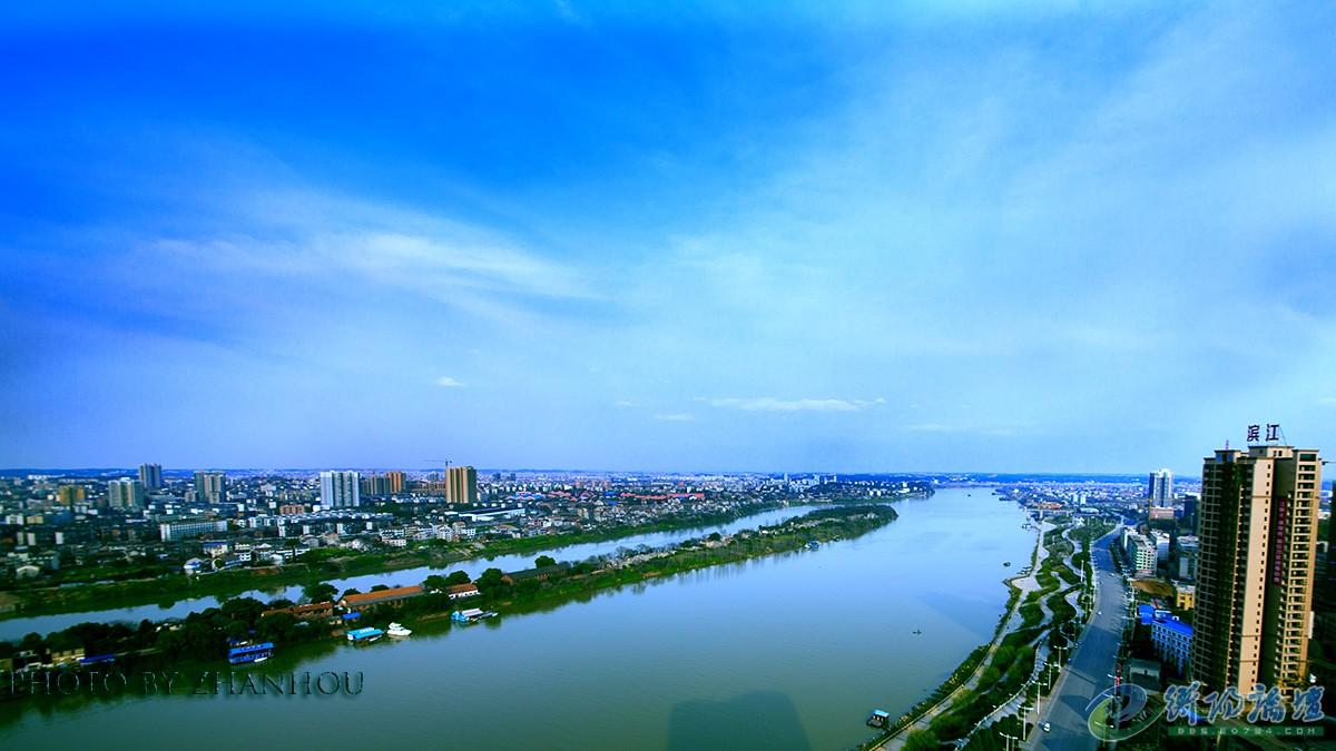 开发中的东洲岛建成后,一江一岛的美景将会更加完美的呈现给雁城市民.